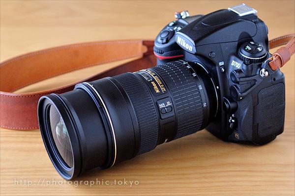 Nikon D700+AF-S NIKKOR 24-70mm f/2.8G ED広角端