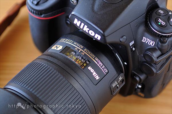 AF-S Micro NIKKOR 60mm f/2.8G EDの距離計