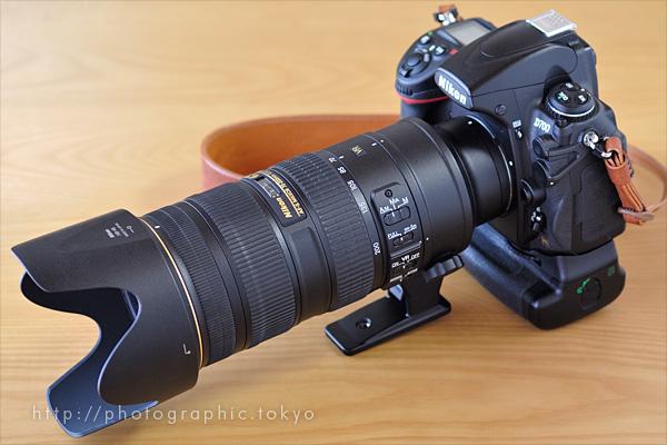 AF-S NIKKOR 70-200mm f/2.8G ED VR II+D700左
