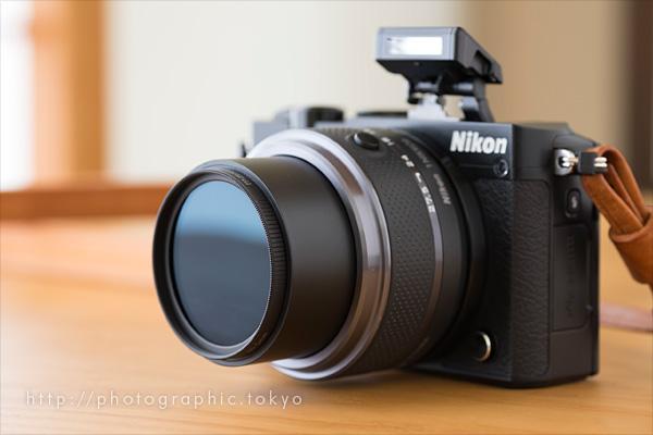 Nikon1J5+ND16フィルタ