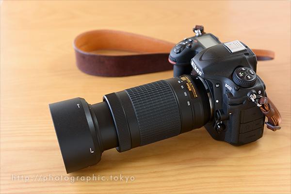 D500+70-300の100mm状態