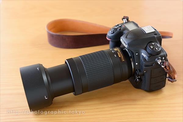 D500+70-300の200mm状態