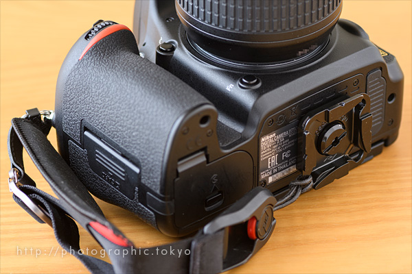 D750+Cluch底面