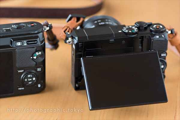 Nikon1J5背面モニタ