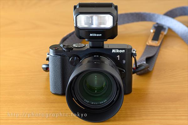 Nikon-1-V3+SB-N7正面