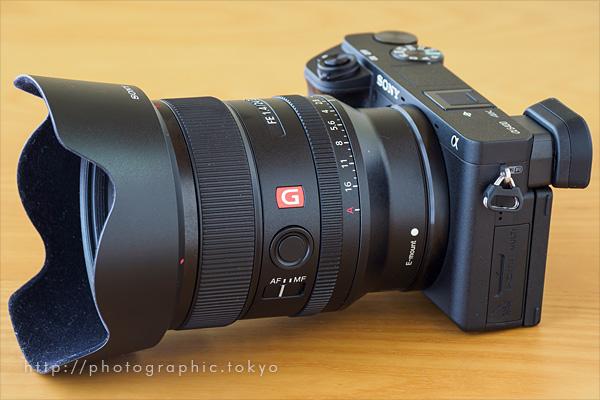 α6400+24mm F1.4GM単焦点