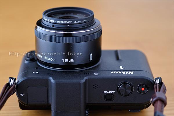 1 NIKKOR 18.5mm f/1.8 + Nikon 1 V1