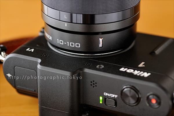 ニコン 1 NIKKOR VR 10-100mm f/4-5.6+Nikon 1 V1