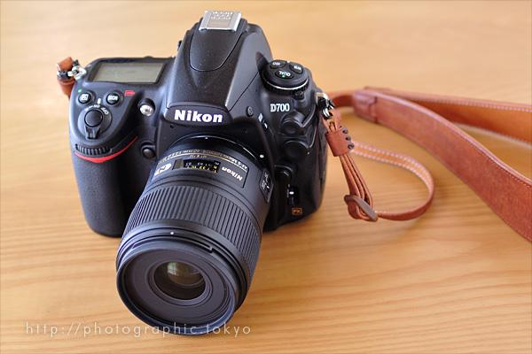 AF-S Micro NIKKOR 60mm f/2.8G ED + D700フードなし