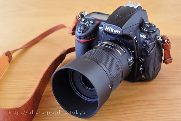 AF-S Micro NIKKOR 60mm f/2.8G ED + D700フード付