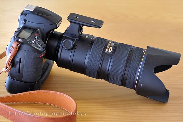AF-S NIKKOR 70-200mm f/2.8G ED VR II+D700右
