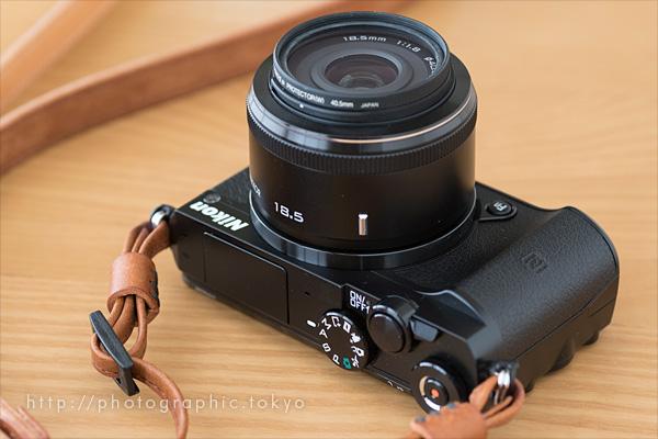 Nikon1J5+標準単焦点仰向け