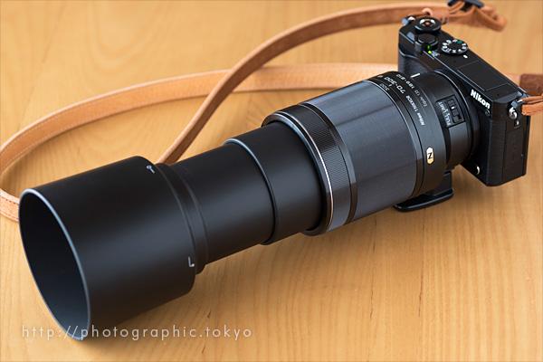 Nikon1J5+超望遠ズーム