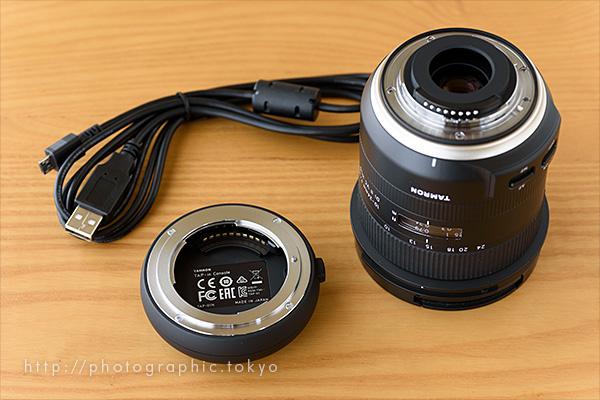タムロン10-24mmとTAP-IN CONSOLE