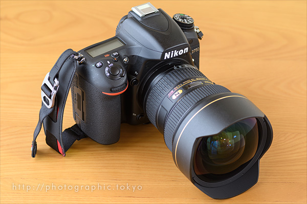 D750+14-24+Cluch斜め前