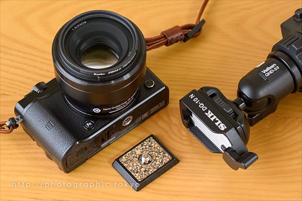 Nikon1j5+SLIKクイックシュー