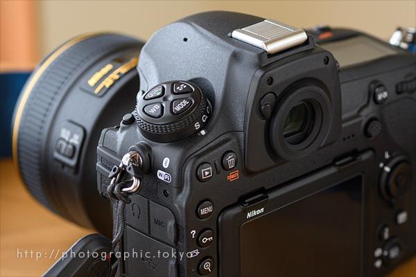 D850+58mm背面