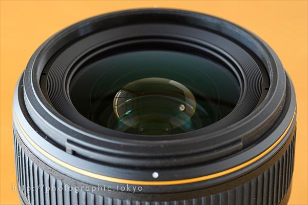 35mm_f1.4前玉アップ